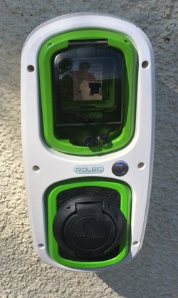 ROLEC EV WallPod Charger Unit
