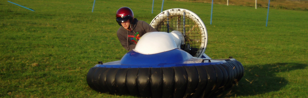 Hovercraft experience in Scotland